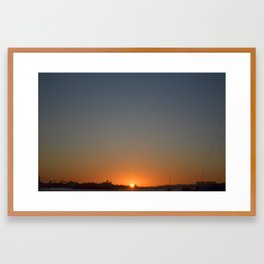 Sunrise, Sunset Framed Art Print