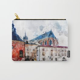 Cracow art 21 #cracow #krakow #city Carry-All Pouch