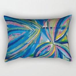A Winter Dandelion Rectangular Pillow