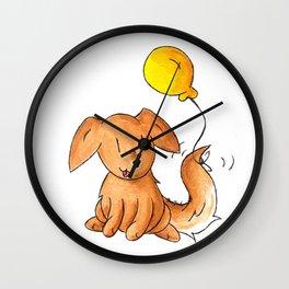 Balloon Doggy Wall Clock
