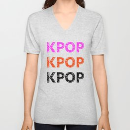 KPOP Sketch Unisex V-Neck