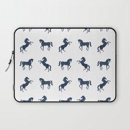 Where the blue horses run Laptop Sleeve