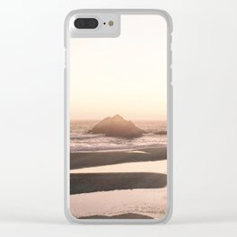 Sutro Sunset Clear iPhone Case