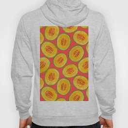 Melon slices watercolor pattern Hoody