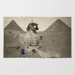 The Sphinx in time Rug