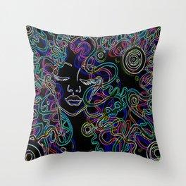 Hyperland Throw Pillow