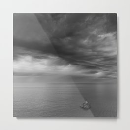 Alone Before The Storm Metal Print