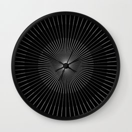 Holy Triangle  Wall Clock