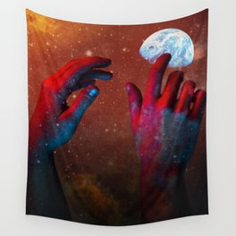 HANDS OF GOD Wall Tapestry