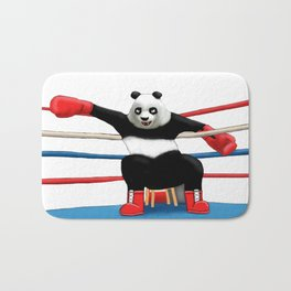 Boxing Panda Bath Mat