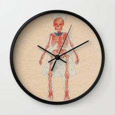Bones. Questions series Wall Clock