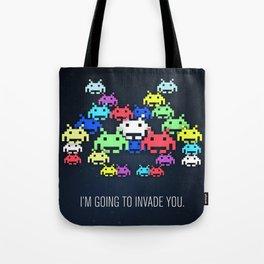 invader boss Tote Bag