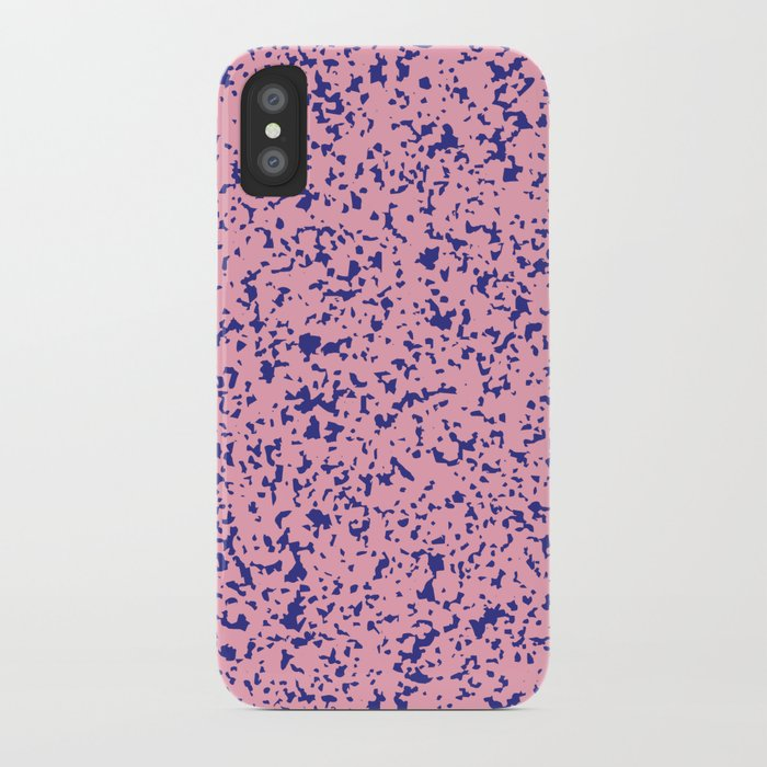 Composition Print (Pink) iPhone Case