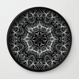 Drawing Floral Doodle G10 Wall Clock