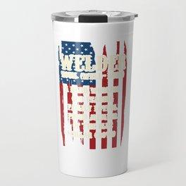 American Welders Welder Definition USA America Flag Welding Metal Melting Solderer Travel Mug