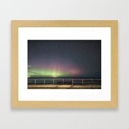 April Aurora Framed Art Print