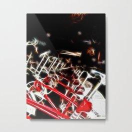 Barcelona Bicycle Bonanza Metal Print