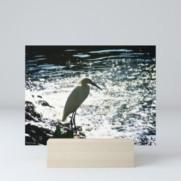 The Egret Mini Art Print