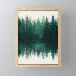 Reflection Framed Mini Art Print
