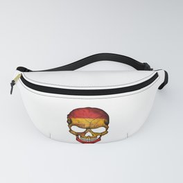 Exclusive Spain skull design Fanny Pack