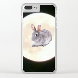 Moonrabbit 5 Clear iPhone Case