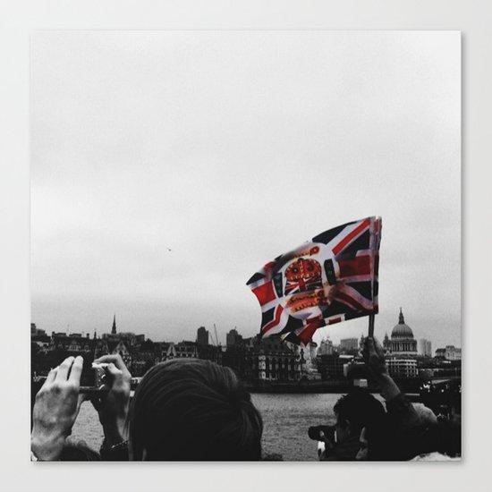 Jubilee Flag Canvas Print