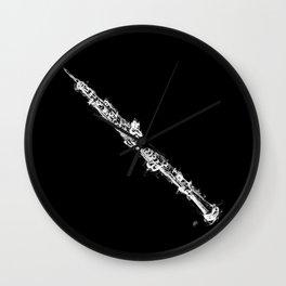 Oboe Wall Clock