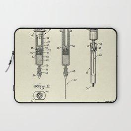 Hypodermic Syringe-1947 Laptop Sleeve