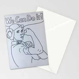 We can do it! // L. Organa Stationery Cards