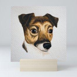 Alfie the Jack Russell Mini Art Print