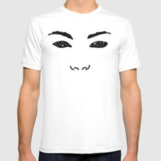 Stars in your Eyes MEDIUM Mens Fitted Tee White