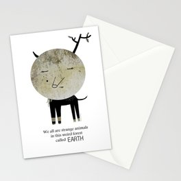 Strange Animal Stationery Cards