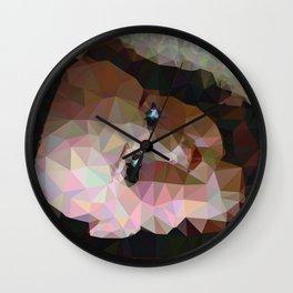 Geometric Doll Head Wall Clock
