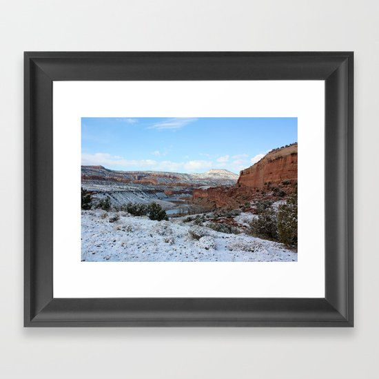 First Snow II Framed Art Print