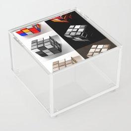 Rubiks Cube Acrylic Box