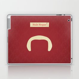 Hogan (Famous mustaches and beards) Laptop & iPad Skin