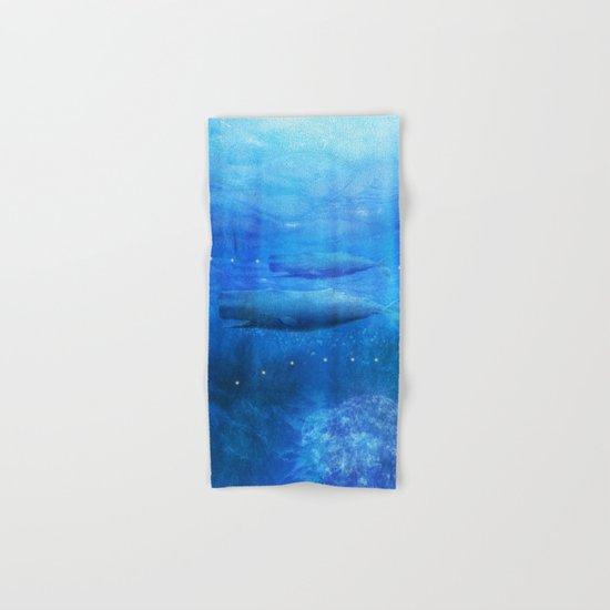 Save The Whales by Viviana Gonzalez Hand & Bath Towel