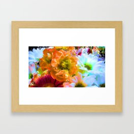 Tropical Coctail Framed Art Print