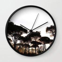 Pineland Wall Clock