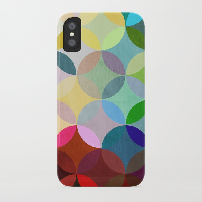Circular Motion iPhone Case