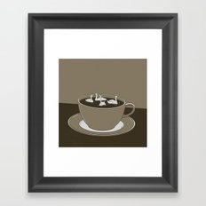 GOOD MORNING 01 Framed Art Print