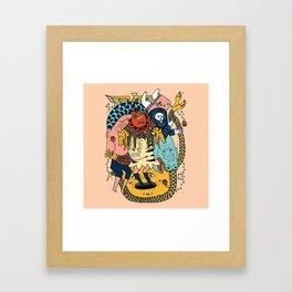 Reaper Pit Framed Art Print