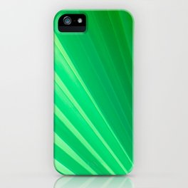 Palm Tree Leaf iPhone Case