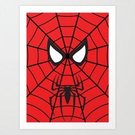Spider-Man Minimalist Sorta Art Print