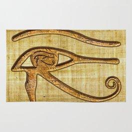 The Wadjet - Ancient Egyptian Eye of Horus Rug