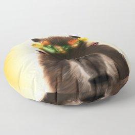 Capybara Shining Floor Pillow
