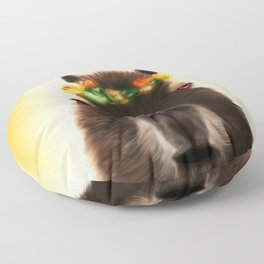 Capybara Shining Floor Pillow