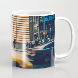 New York city traffic in Times Square Coffee Mug