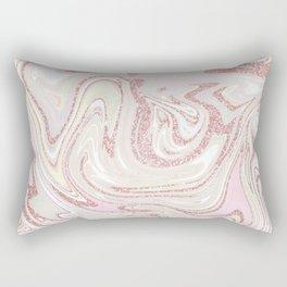 Liquid Glitter Rectangular Pillow