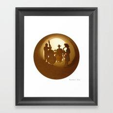 Jazz band Framed Art Print